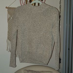 Super heavy knit heathered sweater